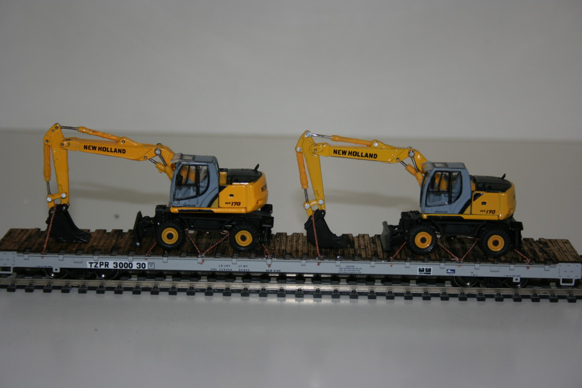 WE 170 Wheel Excavators